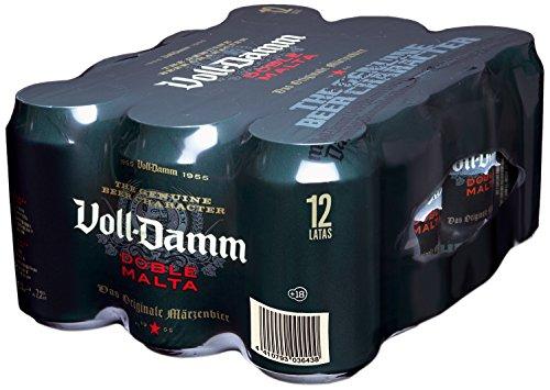Voll-Damm Cerveza - Paquete de 12 x 330 ml - Total: 3960 ml