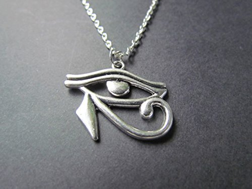 Eye of Horus Necklace - Egyptian Jewelry - Egyptian Charm -  Amazon.co.uk   Electronics 20ba90818b49