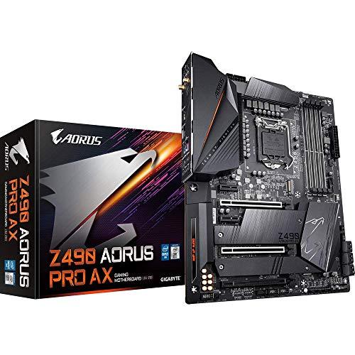 Gigabyte AORUS PRO AX Intel Z490 LGA 1200 ATX DDR4-SDRAM Motherboard