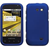 Protector Rubberized Hard Case for Samsung Transform (M920) - Titanium Blue