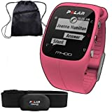 Polar 90057191KT- M400 GPS Training Companion with Heart Rate and Bag - Pink by Polar