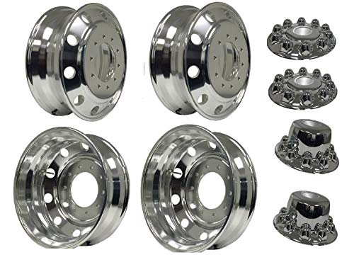 Machine Finished - all position ZX01101 Aluminum Wheels 24.5 x 8.25 Hub Pilot PCD:10X285.75ALCOA STYLE