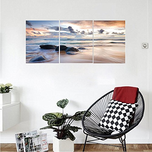Liguo88 Custom canvas Coastal Decor Collection 12 Apostles In Australia Rock Face Lookout By The Sea Sightseeing Panoramic Picture Bedroom Living Room Wall - Glasses For Faces Australia Small