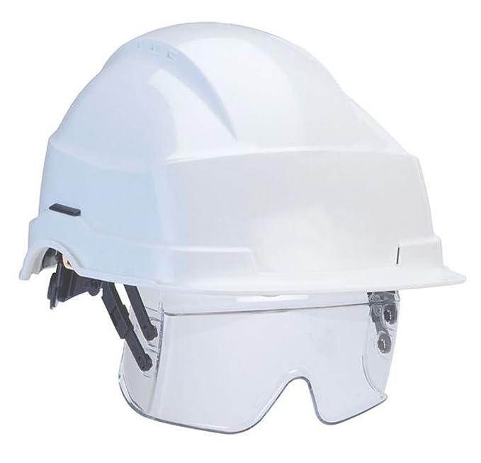 Wenaas 2 de lirios de integrado casco de seguridad con visera para parasol del conductor -