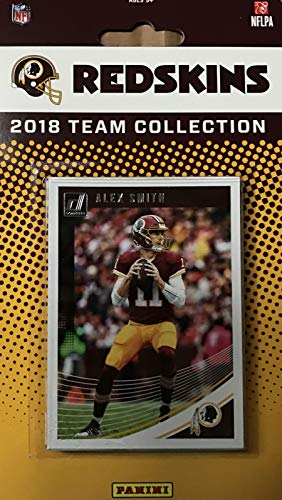- Washington Redskins 2018 Donruss Factory Sealed NFL Football Complete Mint 12 Card Team Set with Alex Smith, Joe Theismann, Derrius Guice Rookie card plus