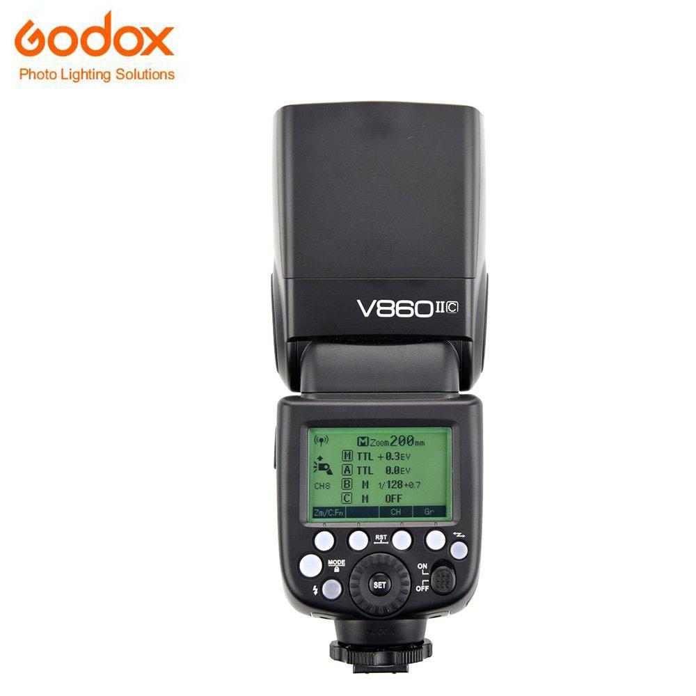 Godox Ving V 860 II TTL Li-Ion Flash Kit for Canon Cameras (Black)