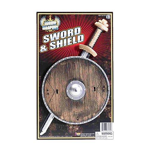 Kids Vikings Costume (Forum Novelties Child Viking Shield and Sword Costume Accessory)