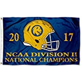 College Flags and Banners Co. Texas A&M Commerce Lions DII 2017 Football Champions Flag Review