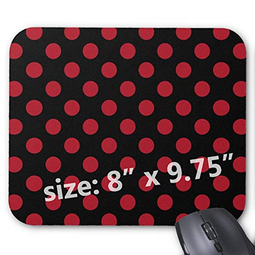 Mouse Mat gaming, 240 x 200 x 2 mm, Non-Slip Rubber Base, Compatible with...