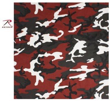 Rothco bandana - red camo