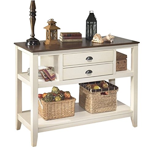Signature Design by Ashley D583-59 Whitesburg Collection Dining Room Server, Brown/Cottage ()