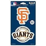 "MLB San Francisco Giants WCR62529014 Magnets (2 Pack), 5"" x 9"""