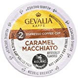Gevalia 2-step Caramel Macchiato K-Cup Espresso Coffee and Froth Packets 9-Count (2 Pack) For Sale
