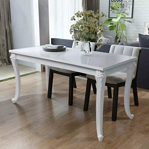 Tidyard High Gloss Dining Table