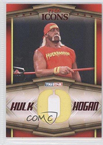 Hulk Hogan #3/25 (Trading Card) 2010 TRISTAR TNA Icons - Hulk Hogan Bandana Letters - Red ()