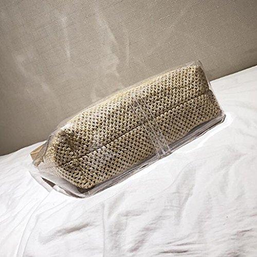 Liu Jelly Buckle Bag Wild 30cm Women House 30 Bag 11 color · Transparent Jelly Yu Khaki size Crossbody Bag Straw Creative Pvc Black zw0zrY8q