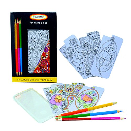 Coloring Pages For Phone Case Of Iphone 6 6s 6 Plus 6s Plus 7 7 Plus