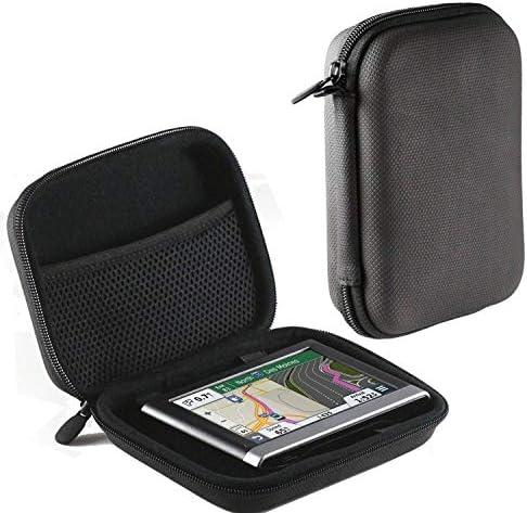Navitech Red Hard Protective Travel Case CompatibleThe Garmin Edge 530 | 830