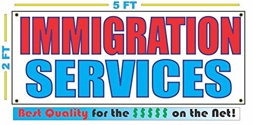Best buy IMMIGRATION SERVICES Banner sign