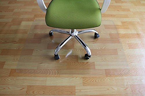 PVC Chair Mat 36' x 48' Hard Floor Protection Clear Transparent