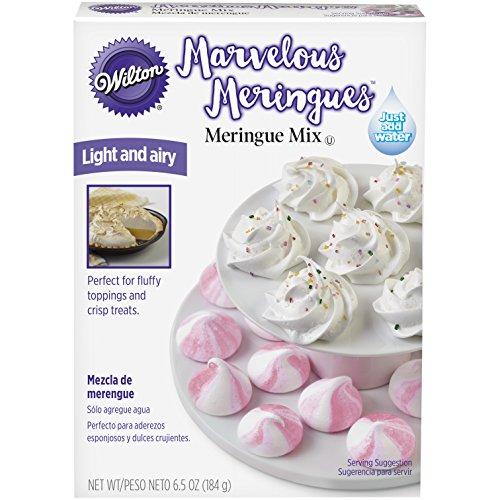 Wilton 2104-6054 Marvelous Meringue Mix, White