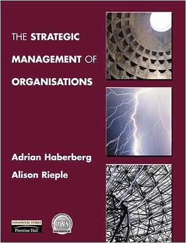 The Strategic Management of Organizations