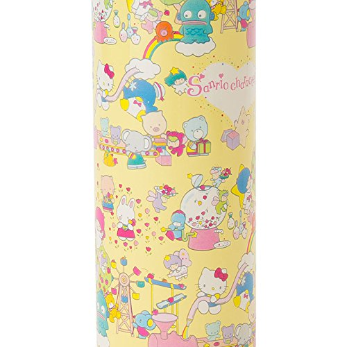 Sanrio Sanrio Characters stainless steel mug bottle M wrapping paper 340ml From Japan New