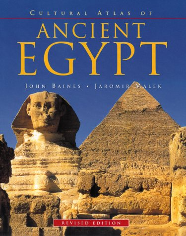 Cultural Atlas of Ancient Egypt by Checkmark Books