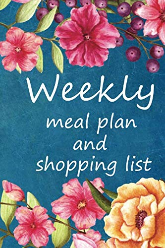 Weekly Meal Planner And Shopping Lists: 20 Week Food Planner. by Olivia D