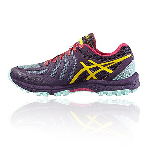 Asics Women's Gel-FujiAttack 5 Gymnastics Shoes, Purple Purple