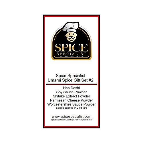 Spice Specialist Umami Spice Gift Set #2 5x2 oz jars