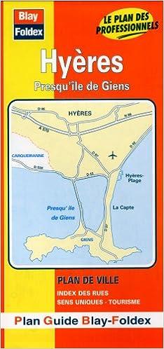 Lire Plan de ville : Hyères (avec un index) pdf