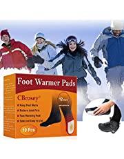 CBROSEY Chauffe Pieds,Pieds Chauds,Autocollant Chauffe,Instant Foot Toes Warmers pour Coussinets Chauffants Auto-adhésifs activés à l'air pour Femmes et Hommes Pieds d'hiver au Chaud 10 Paires