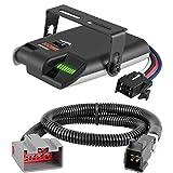 CURT Venturer Brake Controller & Wiring Kit for Ford F-150, Flex, Lincoln MKT - 51436 & 51110