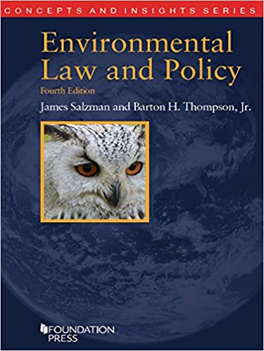 Ebook environmental law
