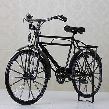 NAZIL Modelo De Bicicleta Manual Retro Hoja De Hierro Antigua ...