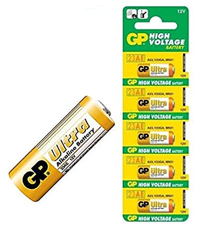 Buy SaleOnTM GP Ultra 23A 5 Pieces Pack of 12V Alkaline Battery High Voltage  Cell Car Remote Battery-425 Online at Low Price in India  258eac7f8b0e5