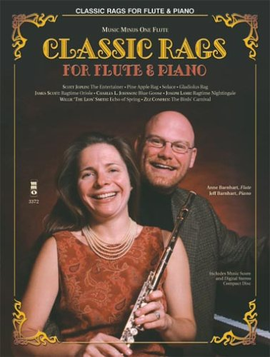 - Classic Rags for Flute and Piano: Music Minus One Flute