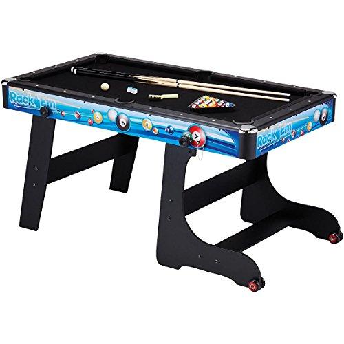 - Fat Cat Stormstrike 5-Foot Space-Saving Folding Billiard/Pool Game Table