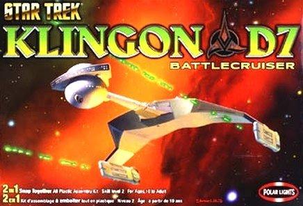 - Polar Lights Star Trek Klingon D7 Battecrusier