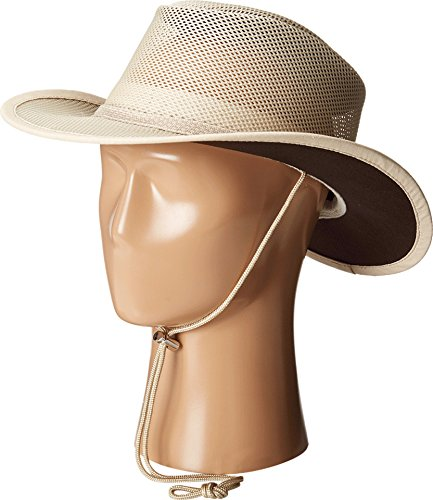 Stetson Men's Mesh Covered Hat, Clay, Large ()
