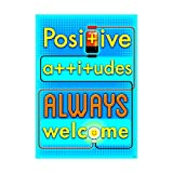 ARGUS Positive Attitudes Always Poster (1 Piece), 13.38