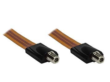 Alcasa F-Type - F-Type M/M - Cable coaxial (F-Type, Tipo F ...