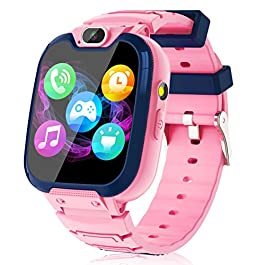 Kids Smart Watch for Boys Girls – Kids Smartwatch with Call SOS 14 Games Camera Video Player Music Player Torch Light…