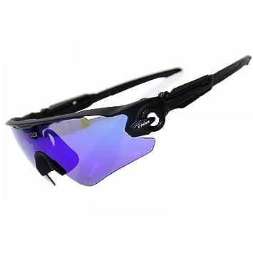 X-TIGER Deportes polarizada Gafas de Sol, Gafas para Ciclismo Ciclismo Correr Esqu¨
