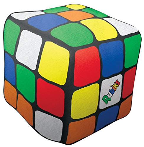 "iscream Old School! Rubik's Cube Shaped 11"" x 11"" x 11"" Micr"
