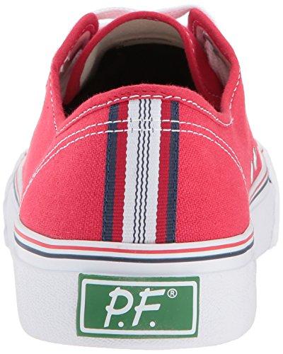 Pf Flyers Mens Center La Moda Sneaker Rosso