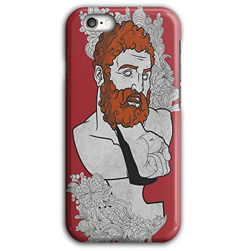Modern Nerd Costume (Beard Greek Nerd Fashion Fist Pain iPhone 6 Plus / 6S Plus Case | Wellcoda)