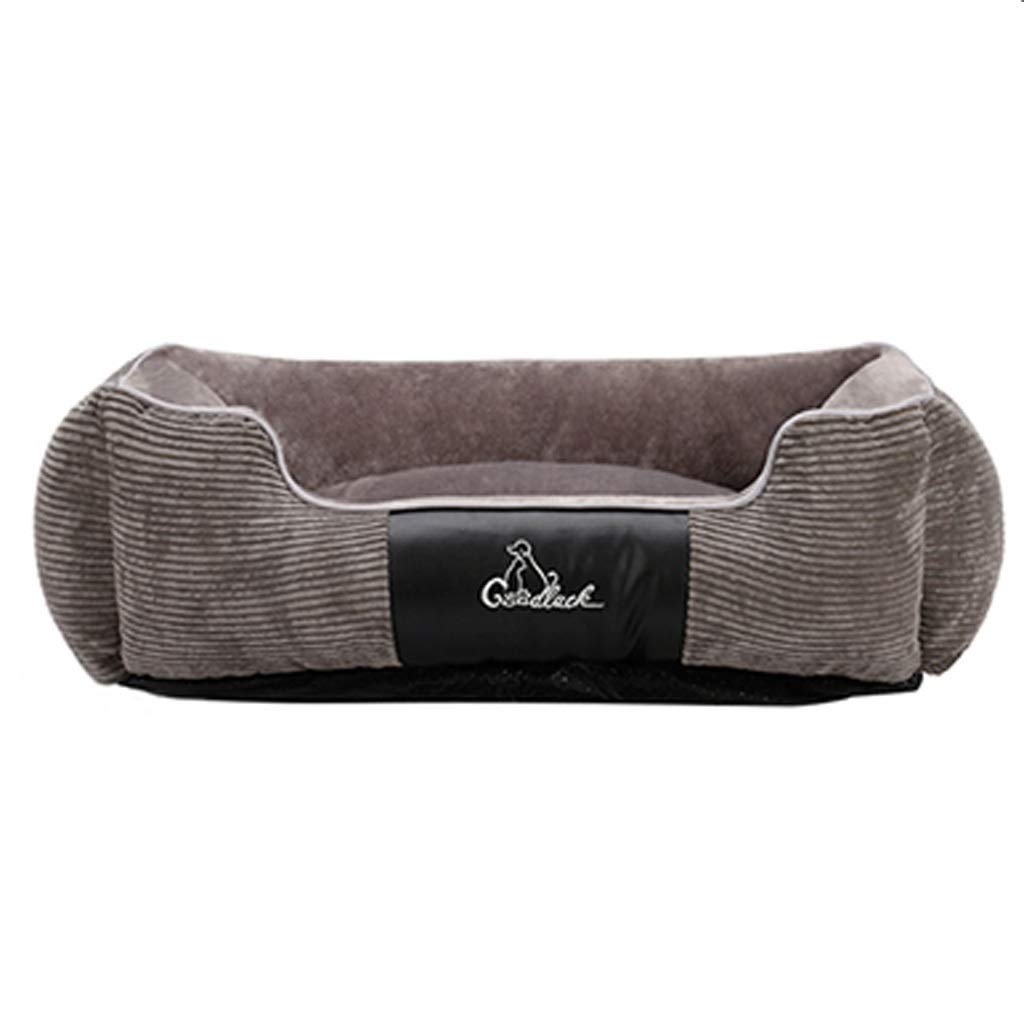 Lxrzls Pet Bed for Cats and Small Medium Dog Cat,Puppy Plush Rectangle Soft Pet Nest Sleeping BagCushion