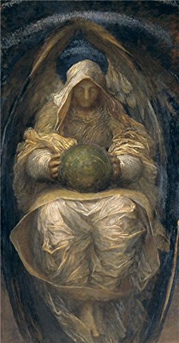 'George Frederic Watts - The All-Pervading,1887-1890' Oil Painting, 18x35 Inch / 46x88 Cm ,printed On High Quality Polyster Canvas ,this Replica Art DecorativePrints On Canvas Is Perfectly Suitalbe For Game (All Project M 35 Costumes)